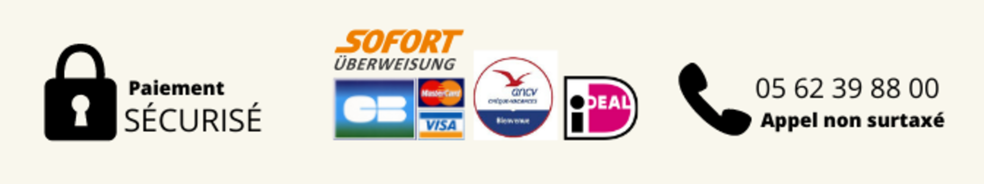 VARIOUS PAYMENT OPTIONS