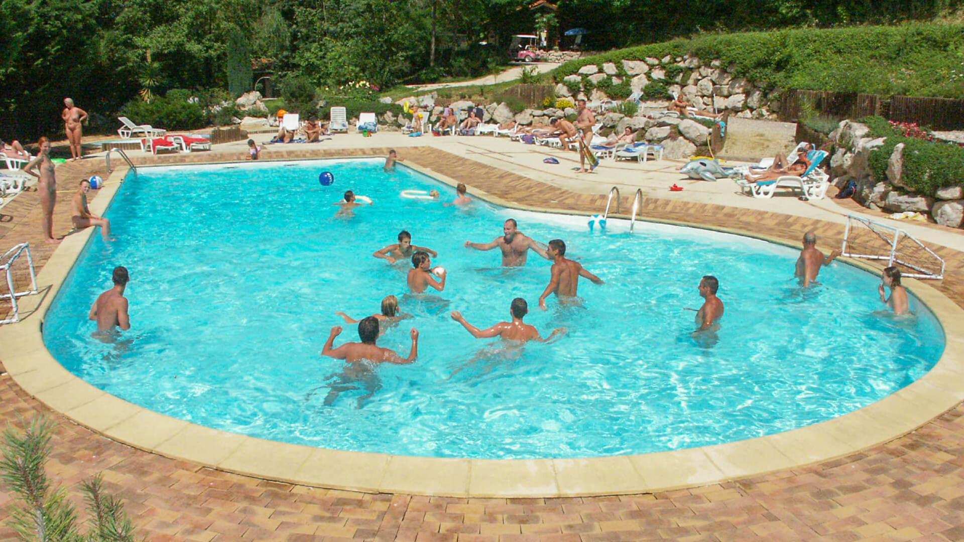 naturist pool