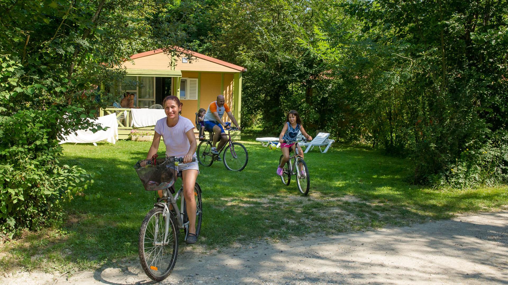 family naturist campsite