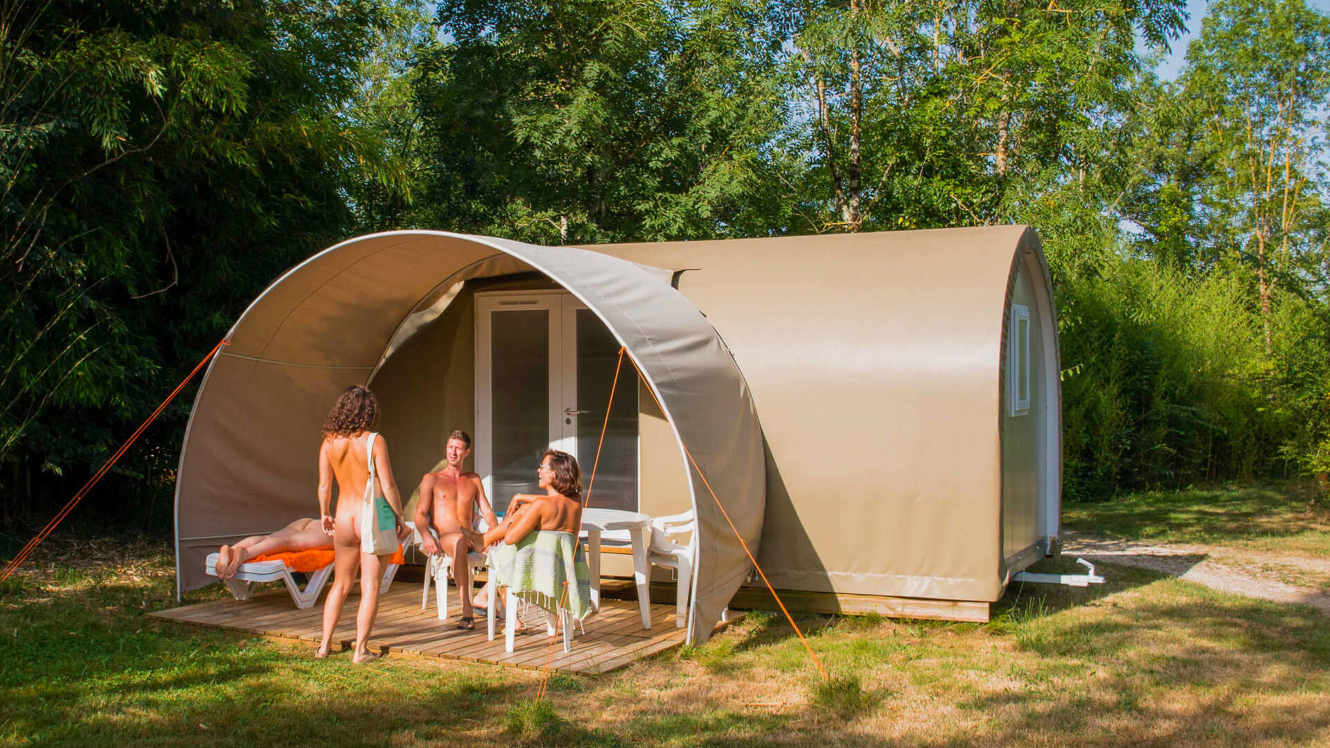 alquiler camping naturista
