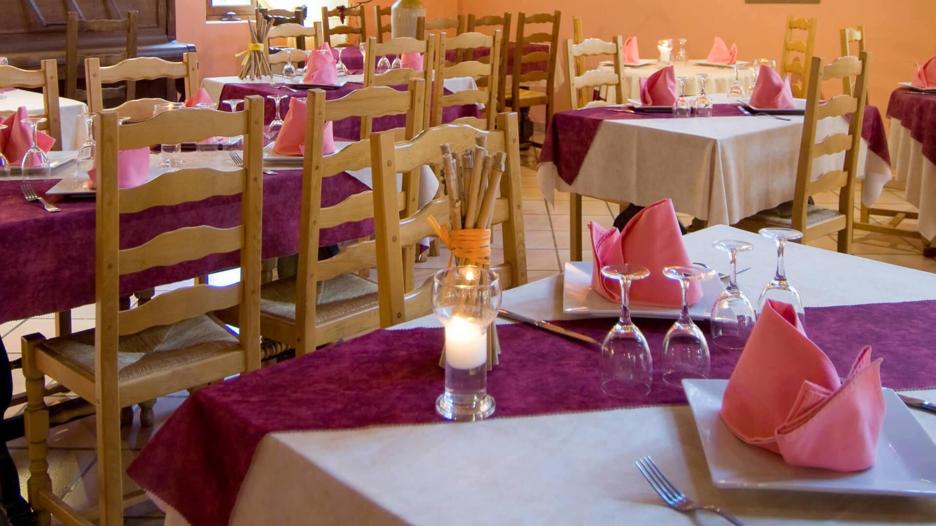 restaurant domaine de l'eglantière